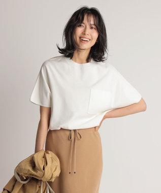 23区 【先行予約】ヴィスコースストレッチ ポケット付き ニット