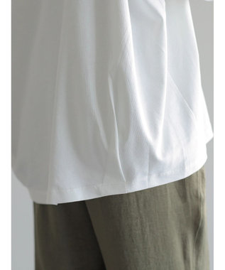 AMERICAN HOLIC コクーン半袖カットプルオーバー Off White