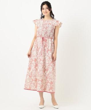 TOCCA 【洗える!】STATICE DRESS ドレス ピンク系5