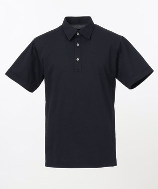 JOSEPH HOMME ハウンドトゥースジャガード ポロシャツ ネイビー系3