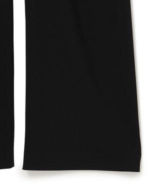 23区 S 【中村アンさん着用】ストレッチツイル ストレート パンツ(番号2C28) ブラック系