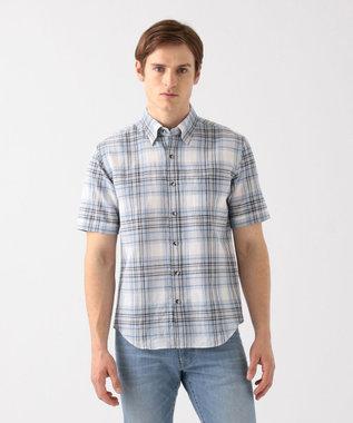 エアリノチェック 半袖シャツ