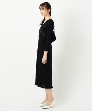 TOCCA 【TOCCA LAVENDER】【Ecovero】Mermaid KnitDress ニットドレス ブラック系