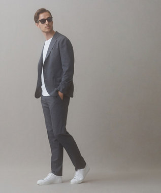 GOTAIRIKU 【コラボ企画】【五大陸×moonstar】オールレザースニーカー ホワイト系