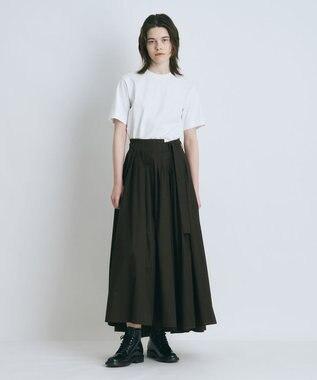 ATON SUVIN AIR SPINNING | クルーネックTシャツ WHITE