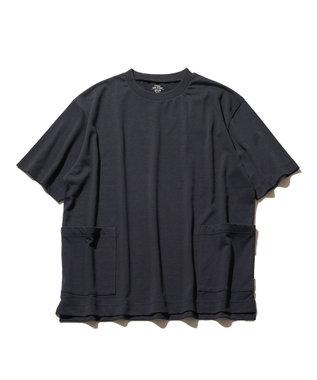J.PRESS YORK STREET 【UNISEX】MVS天竺 Tシャツ ネイビー系