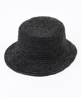 ONWARD CROSSET STORE 【ODDS】RAFFIA BUCKET HAT