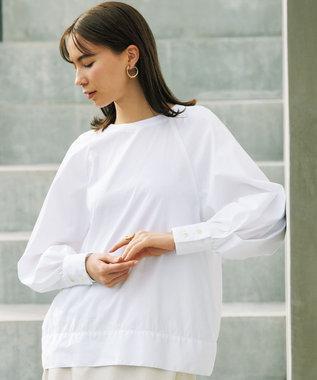 #Newans 【マガジン掲載】SOPHIE/ デフォルメスリーブシャツ(番号NF22) ホワイト系