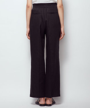 uncrave 【新色追加】ライトリネン パンツ ブラック