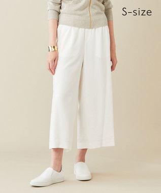 BEIGE, 【S-size】RUIRU / ワイドパンツ White