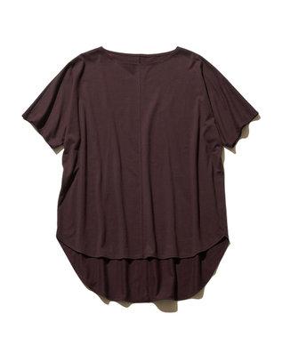 J.PRESS YORK STREET 【WOMEN】30/1 天竺 Tシャツ ワイン系