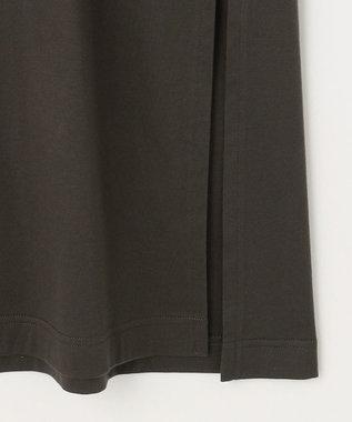 自由区 【UNFILO/撥水・汗シミ防止】カラーファンクション チュニック グレー系