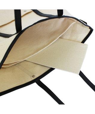 ROOTOTE 1951【自立・肩掛け・A4サイズ収納】/ LT.トール.ラフリーキャンバス-A 01:ブラック