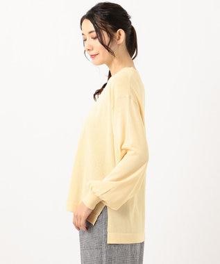 any FAM 【LEE3月号掲載商品】シアーニット プルオーバー イエロー系