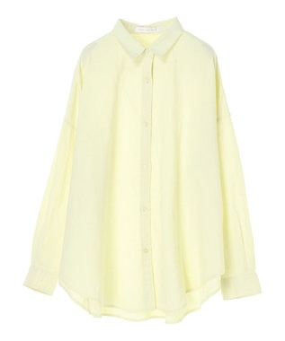 AMERICAN HOLIC リネンブレンドオーバーシャツ Yellow