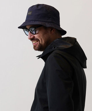 Hat Homes 【Mighty Shine/マイティーシャイン】 NYLON BUCKET HAT NAVY