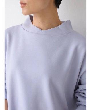 AMERICAN HOLIC スタンド衿ポンチプルオーバー Light Blue
