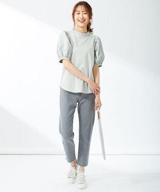 組曲 【22.5~24.5cm】MOON STAR スエード ベーシック スニーカー ライトグレー系