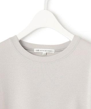 23区 S 【ONWARD MAG】フレンチ スリーブ  IT Tシャツ ライトグレー系