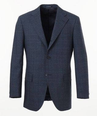 J.PRESS MEN 【CUBA BEACH MASTERPIECE】シルクツイストチェック スーツ ネイビー系3