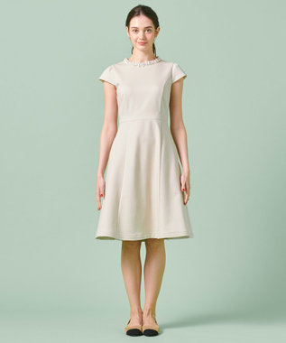 TOCCA 【洗える!】GENMA ドレス ベージュ系