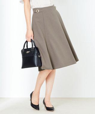 any SiS 【洗える】サイドバックルライト スカート