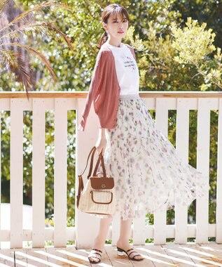 【THE Mコラボ】フラワーチュール スカート