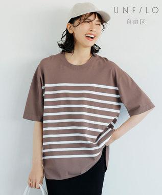 【UNFILO/Sサイズ有】レーヨン ストレッチ Tシャツ(検索番号:UH32)