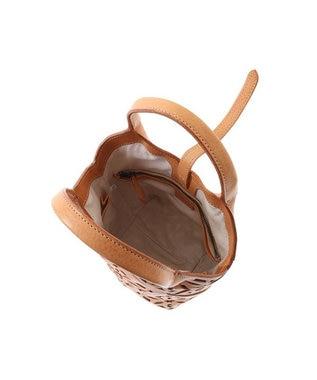genten genten ゲンテン サスティナブルカットワーク トートバッグ(小) ヌメベージュ