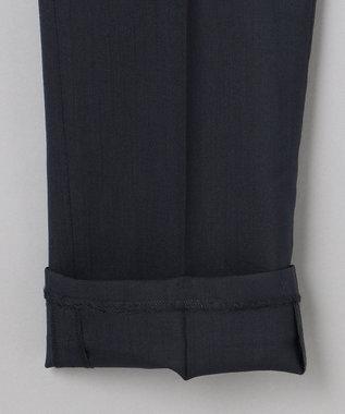 GOTAIRIKU 【AIRYMOVE】ウォッシャブルウール セットアップパンツ ネイビー系