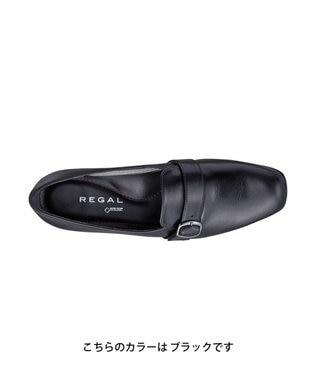 REGAL FOOT COMMUNITY 【リーガルレディース】ゴアテックス ファブリクス搭載のベルトパンプス ネイビースエード