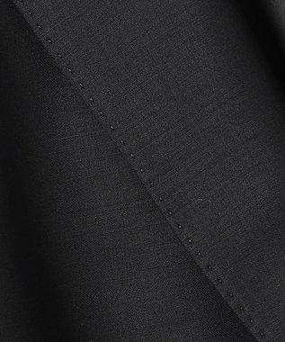 23区 【セットアップ対応】ファインネスウール 2つ釦 テーラード ジャケット ブラック系