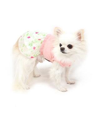 PET PARADISE ペットパラダイス 花柄 ワンピ―ス ピンク 〔超小型・小型犬〕 ピンク(淡)