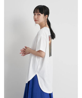 earth music&ecology Let's have a break ビッグチュニック Off White