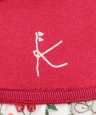 組曲 KIDS 【80-90cm】ボレロ+チェリーワンピース+スパッツ 3点セット レッド系5
