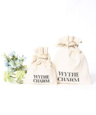WYTHE CHARM 【上品な魅力♪エレガントアクセサリー】K14GF シェル×ガラスチェーンピアス ゴールド