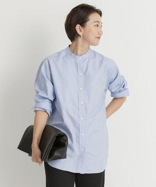 23区 【先行予約】CANCLINI バンドカラー シャツ
