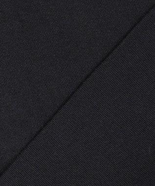23区 L 【洗える】コットンダブルフライス タンクトップ ブラック系