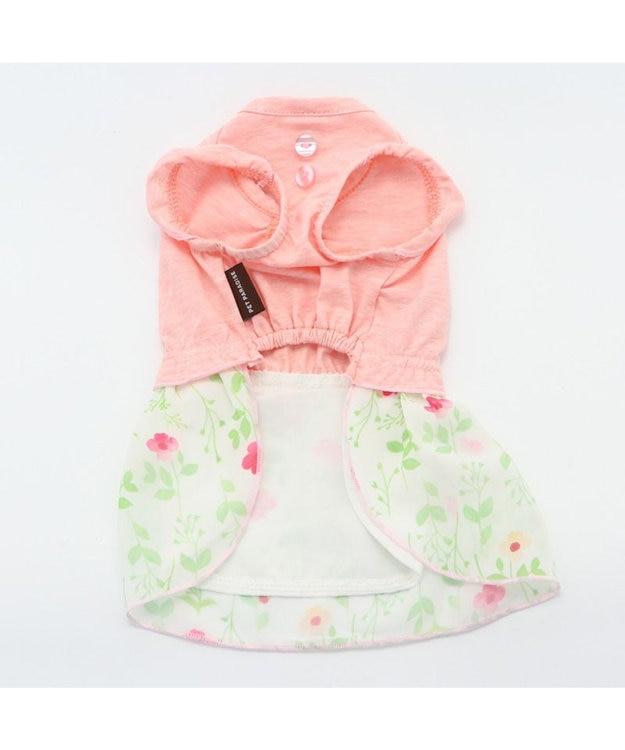 PET PARADISE ペットパラダイス 花柄 ワンピ―ス ピンク 〔超小型・小型犬〕