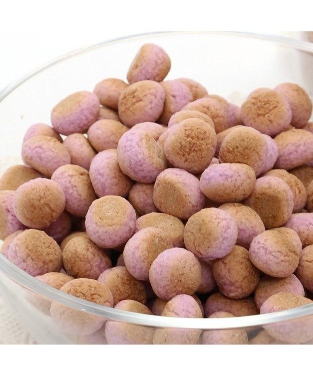 PET PARADISE 【3個セット】 犬 おやつ 国産 セット 紫いも ボーロ 80g×3袋 | まとめ買い ネット限定 オヤツ むらさきいも 紫芋 紫イモ ムラサキイモ