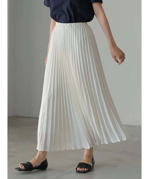AMERICAN HOLIC ラメプリーツスカート