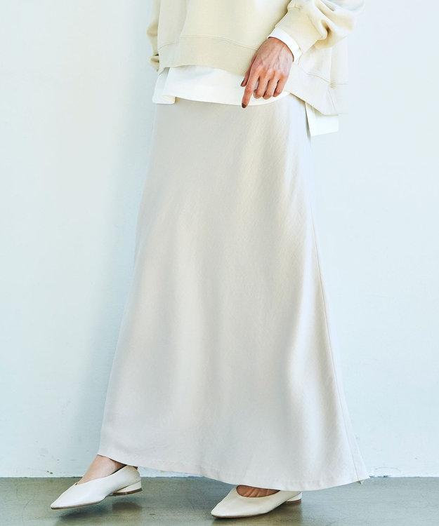 23区 S 【中村アンさん着用】テンセルサテンギャバ フレア スカート(番号2D26)