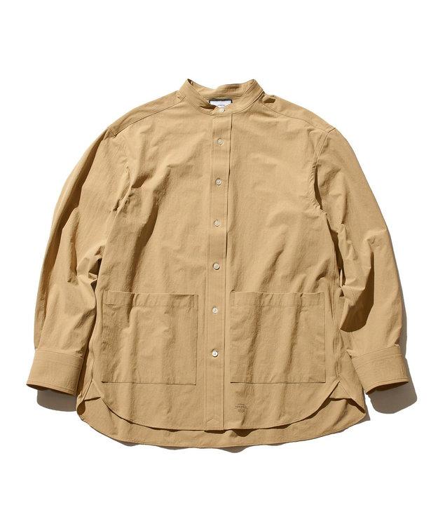 J.PRESS YORK STREET 【UNISEX】NYウェザー バンドカラーシャツ