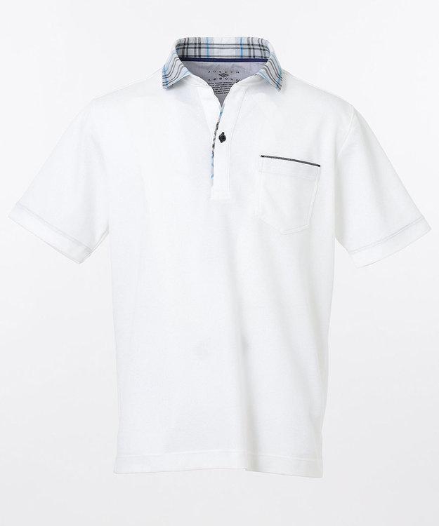 JOSEPH ABBOUD OGクールダディポロシャツ(サファリ柄・チェック柄)