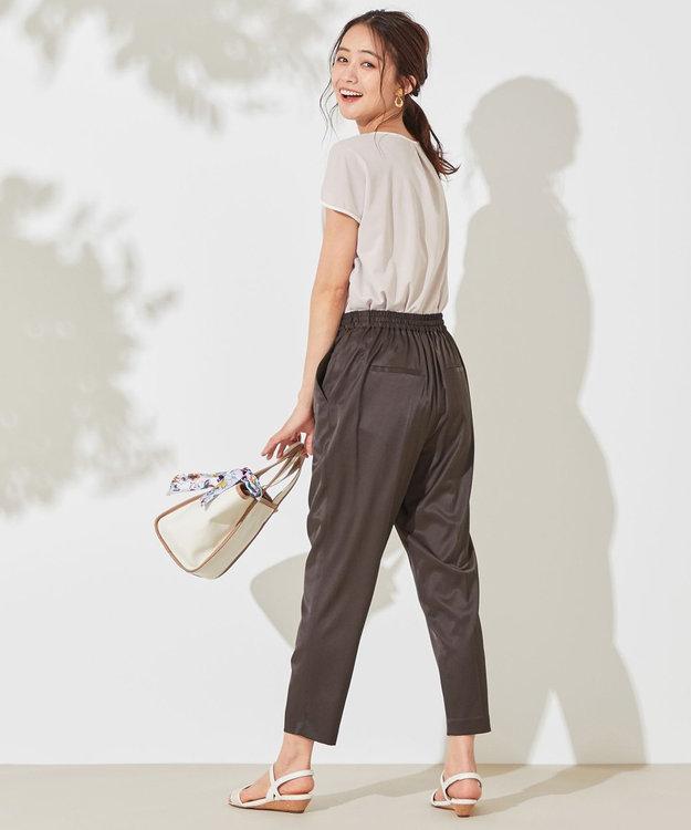 any SiS S 【L'aube】ドロスト イージーパンツ