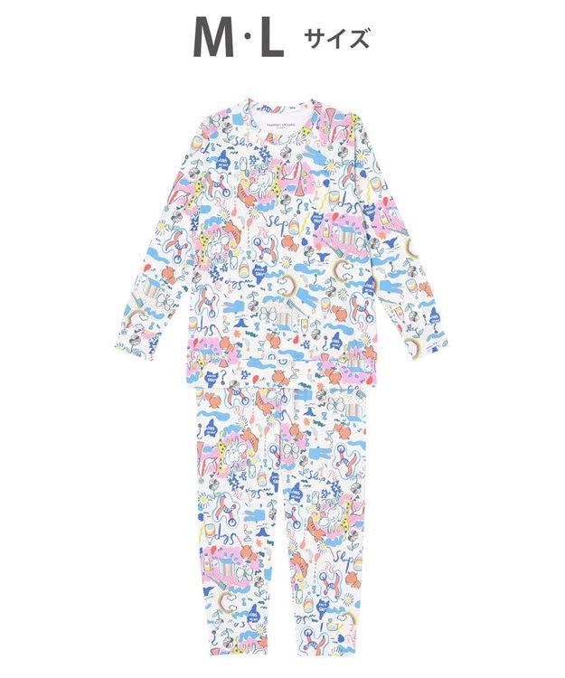 tsumori chisato SLEEP パジャマ ロング袖ロングパンツ スムース素材 /ワコール UDO259