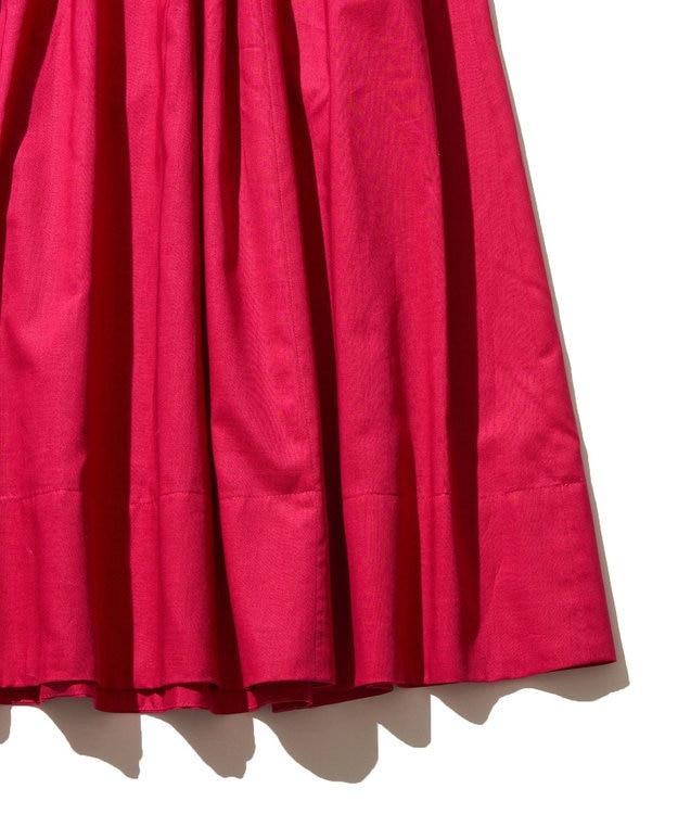 J.PRESS YORK STREET 【WOMEN】コットンボイル ギャザースカート