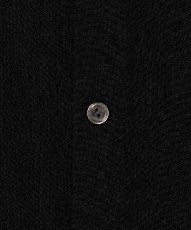 23区 S 【マガジン掲載】LIBECO バックボタン ブラウス(番号2K23)