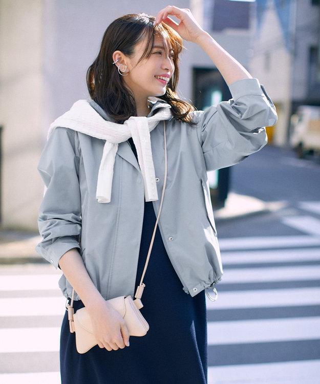 組曲 【セットアップ対応】ライトニットアップ ニットワンピース ネイビー系