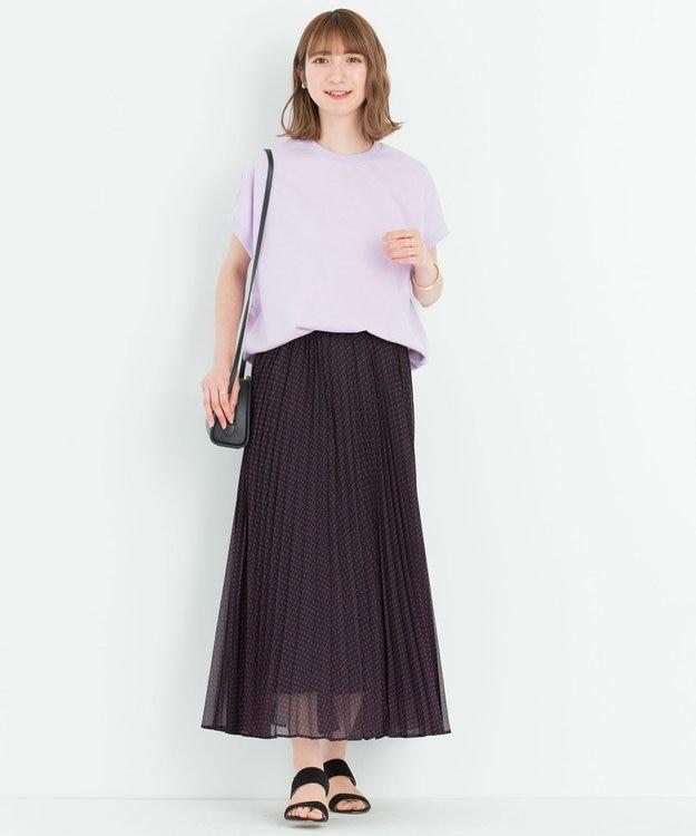 23区 S 【マガジン掲載】スクエアドット プリーツ スカート(番号2C26)